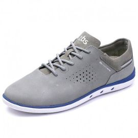 0c778a7d30a Chaussures Mahani Cuir Gris Homme Tbs