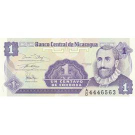 billet de banque nicaragua